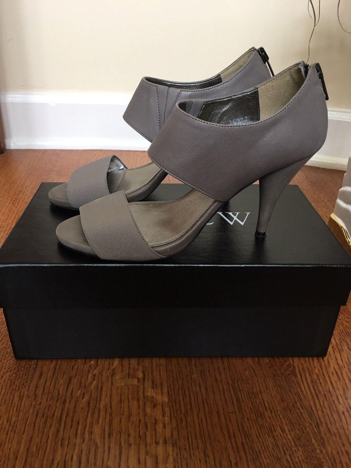 JCrew Demetra Leather, Heels, grau Leather, Demetra 6 b5425f