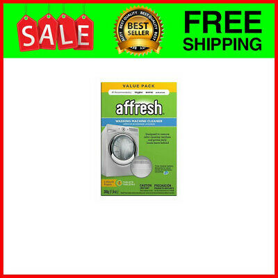 Finally Fresh Washer Machine Cleaner 5 Tablets, White, 5 ...