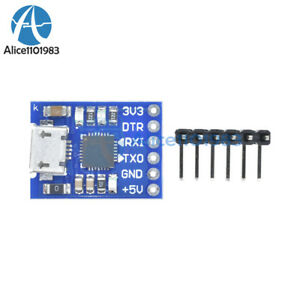 MICRO-USB-to-UART-TTL-Module-6Pin-Serial-Converter-CP2102-STC-Replace-FT232