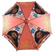"Disney Moana Adventurous Teenager Girls 21"" Umbrella w/Figurine Handle"