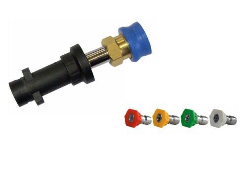 Karcher K-series K2-K7 Compatible to Quick Release 11.6 mm /& Nozzles