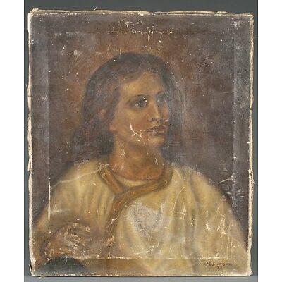 8. Merton Simpson, Del Nino Jesus. 1948. Lot 8