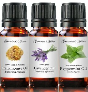 Essential & Carrier Oils - 100% Pure - Create a set - 5 items - 5 mL  Only $10!