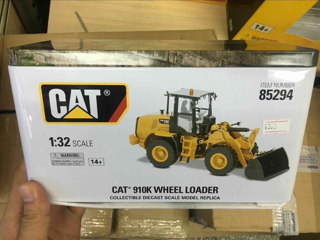 Caterpillar 1 32 escala Diecast Cat 910K Rueda Cochegador 85294 por maestros Diecast