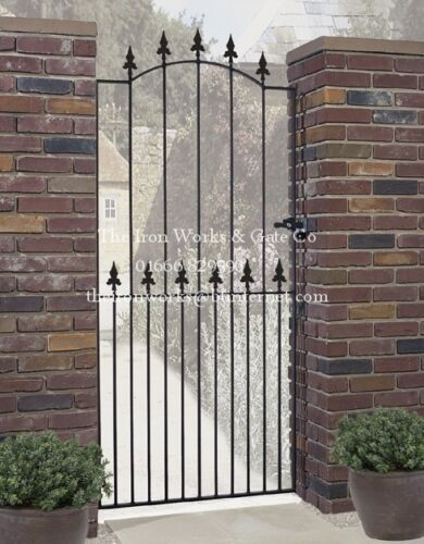 "52/"" OPENING X 6ft TALL MADE TO MEASURE SAXON TALL SINGLE GARDEN GATE EXTRA WIDE"