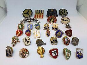 Intelligent Spilla Metallo Verniciate Scudi Pins Distintivo Vintage