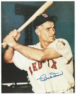 Bobby-Doerr-Red-Sox-Autograph-Auto-Signed-8X10-Color-Photo