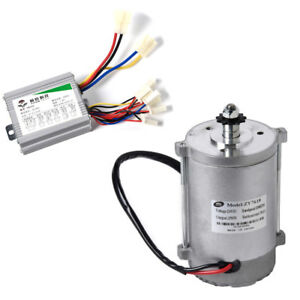 Details about 450 W 36V DC electric motor+Speed Controller f scooter  go-kart skateboard ZY7618