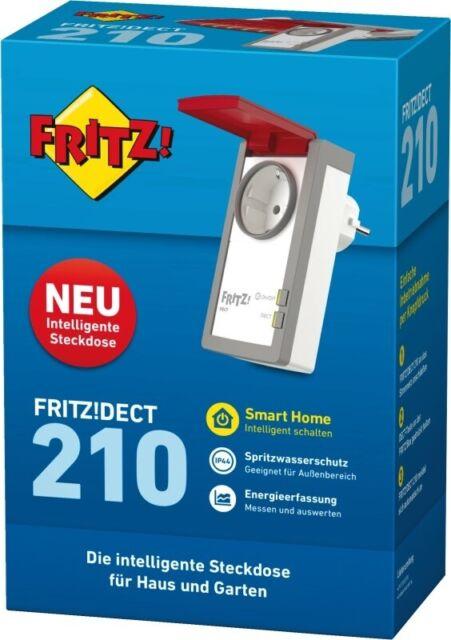Fritz!DECT 210 Weiss-Rot NEU & OVP