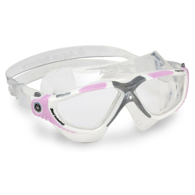 0126f34e59 Aqua Sphere Women S Vista Lady Swimming Goggles Pink for sale online ...