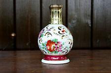 """Ancienne Lampe Berger  """" Rose Sèvres """"  porcelaine de Couleuvre"""