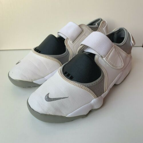 Nike Air Rift Womens Trainers Shoes White Size US