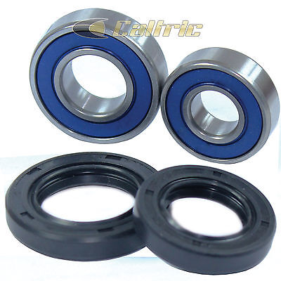 Yamaha Banshee Front//Rear Wheel and Axle Bearing Set Ball Bearings