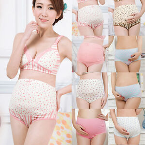 fa6f7918d8c3e Image is loading 100-Cotton-Pregnant-Panties-Maternity-Lingerie-Women- Underwear-