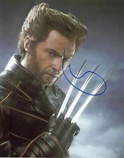 Hugh Jackman Signed 10X8 Photo Logan Wolverine AFTAL COA (7283)