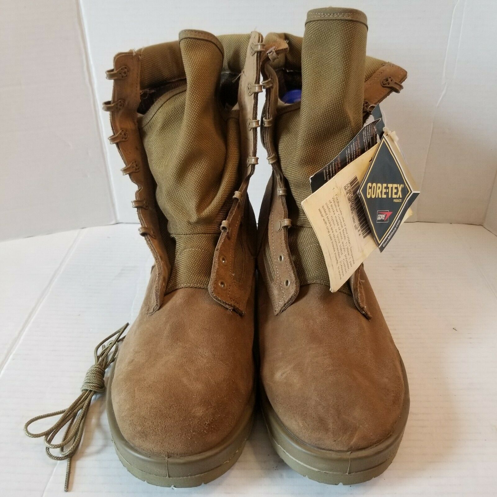 🔥Goretex boots marine corps infantry combat boot size 13 new with tags 1 lace