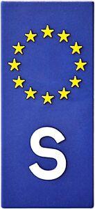 Euro-Schweden-Europa-S-Emblem-Sweden-Aufkleber-3D-Flagge-HR-Art-19159