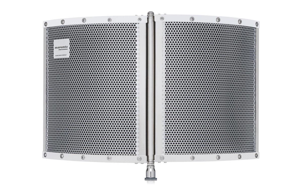 Marantz SOUND Shield Compact Vokal reflektieren Filter Screen akustisch für