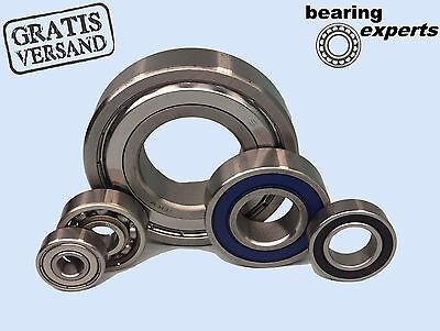 6800 2RS 10x19x5 mm Precision Bearing 10 x 19 x 5 mm 10x Kugellager 61800 2RS
