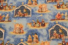 Crafty Fairies by Jim Shore BTY Quilting Treasures Red Floral Flowers