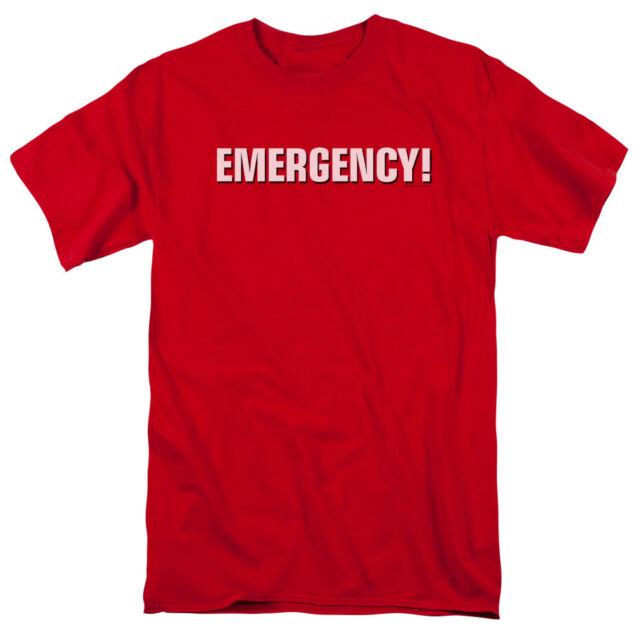 Emergency TV Show NBC Retro Cast Adult Crewneck Sweatshirt