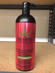 Hempz-Blushing-Grapefruit-amp-Raspberry-Creme-Conditioner-33-8oz-LITER-W-PUMP