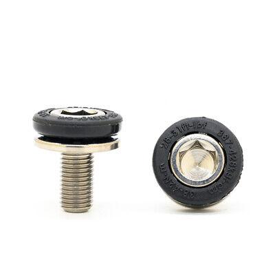 2-8PCS Bike Square Taper Crank Bolts Allen Head Bottom Bracket M8 BB Axle Screw