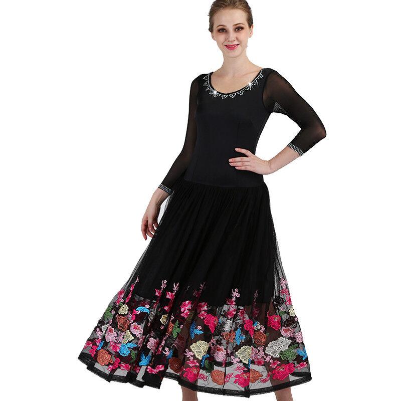 NEU Latino salsa Kleid TanzKleid Standard LatinaKleid Latein Turnierkleid FM328