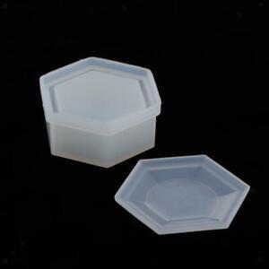 Vaso Da Fiori Per Stampi In Silicone Per Ornamenti In Resina Da 8,5x3,4 Cm