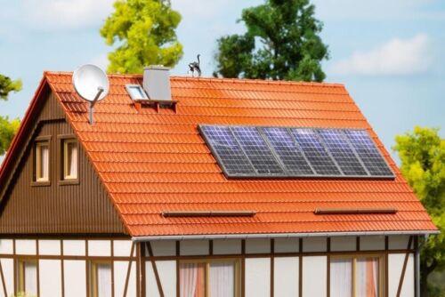 Piste h0 Auhagen 41651 satellites-Bols et les panneaux solaires kit