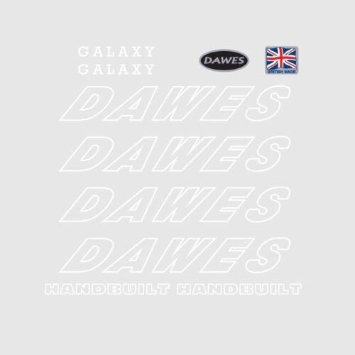Dawes Galaxy bicyclette decals-transfers-autocollants n.3