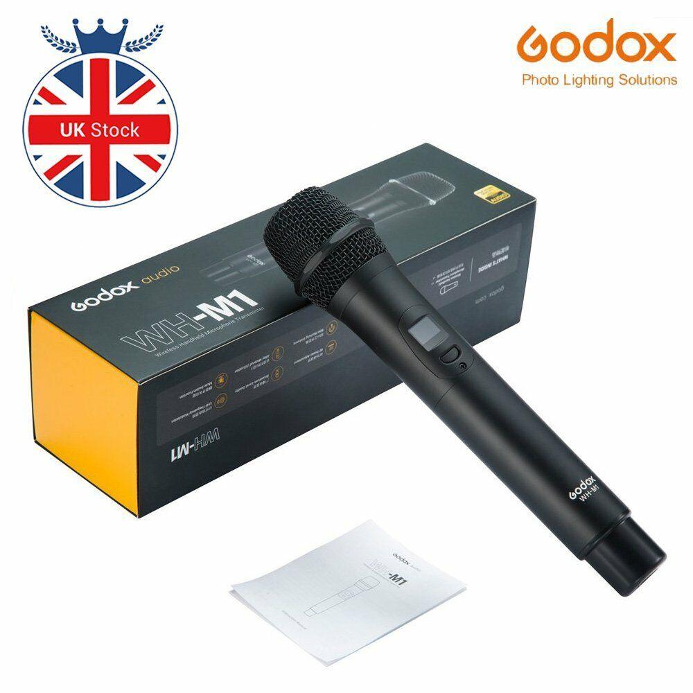 Godox WH-M1 UHF Wireless Handheld Microphone Transmitter Smart noise reduction
