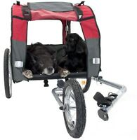 Large Dog Bike Trailer Pushchair Carrier Stroller Jogging Kit Pet Bicycle Ride