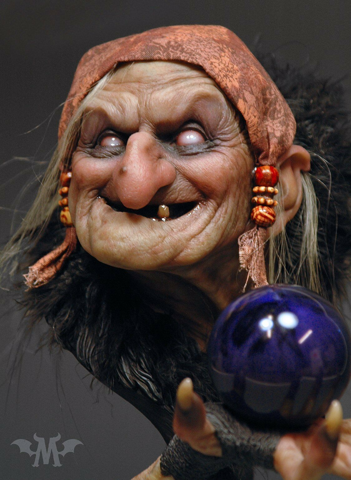 Andy Bergholtz Maleva The Spell Fully Painted Bust