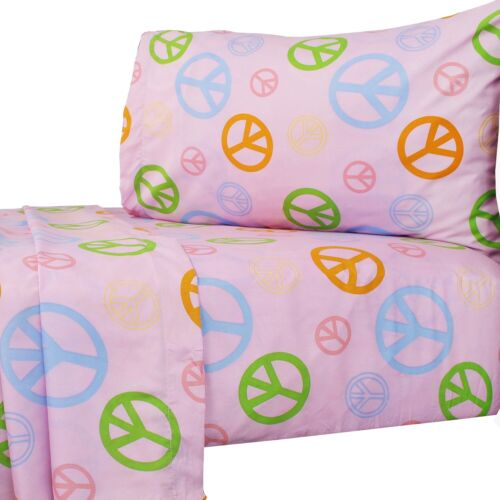 Cute Kids Room Bedding Sheets Pillowcase nEw PATTERN THEMED BED SHEETS SET