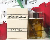 White Christmas Parfum Splash 1.0 Oz. By Saravel Vintage