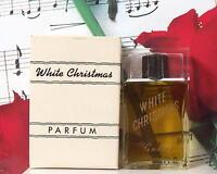 White Christmas Parfum Splash 1.0 Oz. By Saravel Vintage