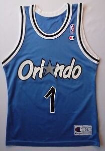 the latest 79658 857f9 4.9/5 Vintage campeón Orlando Magic #1 Anfernee