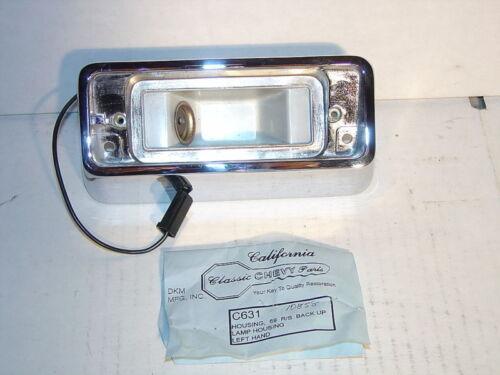 1969 Camaro RS Left  Hand Back Up Light Housing Show Quality