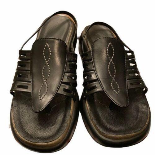 Dansko size 38 (8) strappy leather wedge sandal