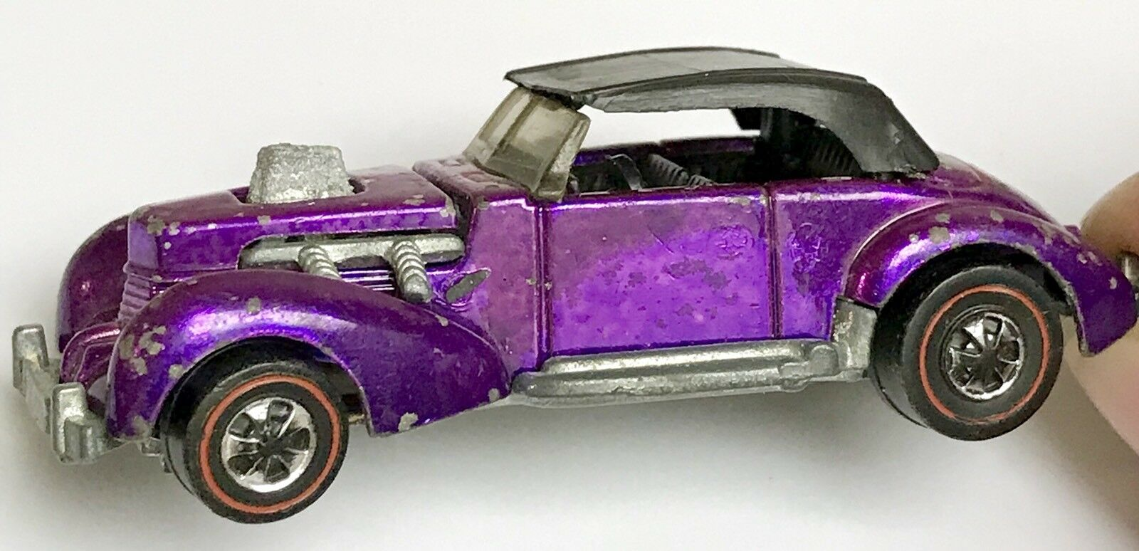 Berry lila us - klassiker mit 1970 hot wheels rotline farbe.
