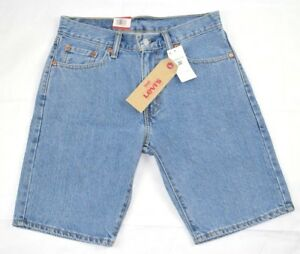 c1ebea894dc NWT Levis Men's 505 Regular Fit Denim Shorts Light Blue SIZE 30 | eBay