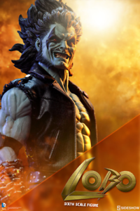 DC Sideshow Collectibles Lobo 1 6 Scale Action Figure