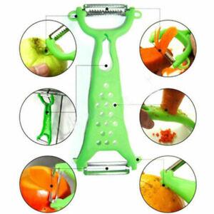 Gemuese-Obst-Schaeler-Parer-Julienne-Cutter-Slicer-Mehrzweckschaeler-Kuechenhelfer