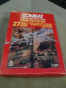 COMBAT for Atari 2600 ▪︎ COMPLETE IN THE BOX ▪︎ FREE SHIPPING ▪︎