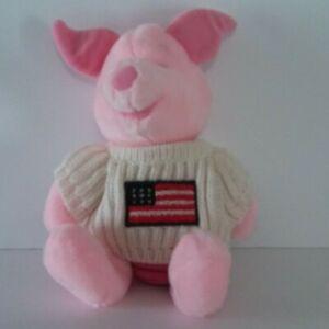DISNEY-STORE-PIGLET-12-034-Plush-Pink-Pig-Winnie-the-Pooh-Friend-Stuffed-Animal-Toy