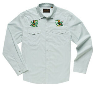 NEW Howler Brothers Gaucho Snapshirt Mens Large TOUCANS SOLD OUT Bros