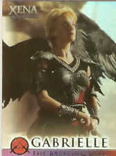 Xena Battling Bard G6 Season 4 and 5 Renee OConnor as Gabrielle insert card