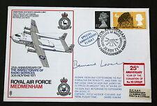 RAF 25th ANNIV ISPETTORATO dei servizi radio 1971 Copertina firmata Bernard Lovell