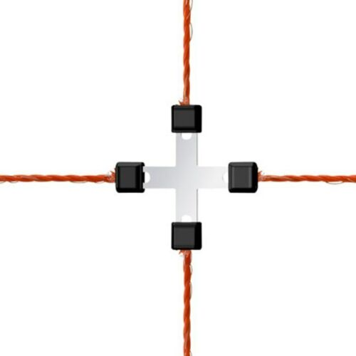 442014//056 litzenverbinder acero inoxidable REPARATURSET para redes de oveja red de aves de corral